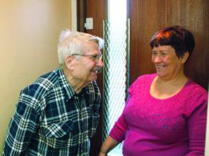 Älykäs poistumisvalvonta on yksi 9Solutionsin kehittämä vanhuspalveluiden turvajärjestelmä