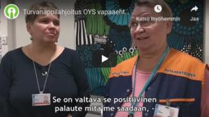 9Solutions lahjoitti paikantavat hälytyspainikkeet sairaalan vapaaehtoisille