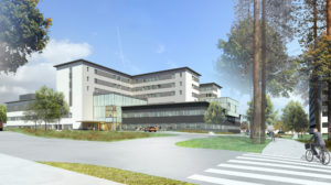 The Kainuu new hospital is using 9Solutions nurse call, safety and locating systems