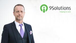 9Solutions Oy:n varatoimitusjohtaja Stefan Anderson