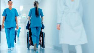 Tulevaisuuden sairaalaa rakentamassa, langaton Bluetooth-verkko